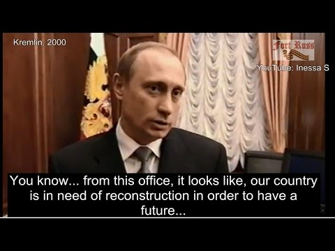 Putin knew what to do! His first interview, 2000