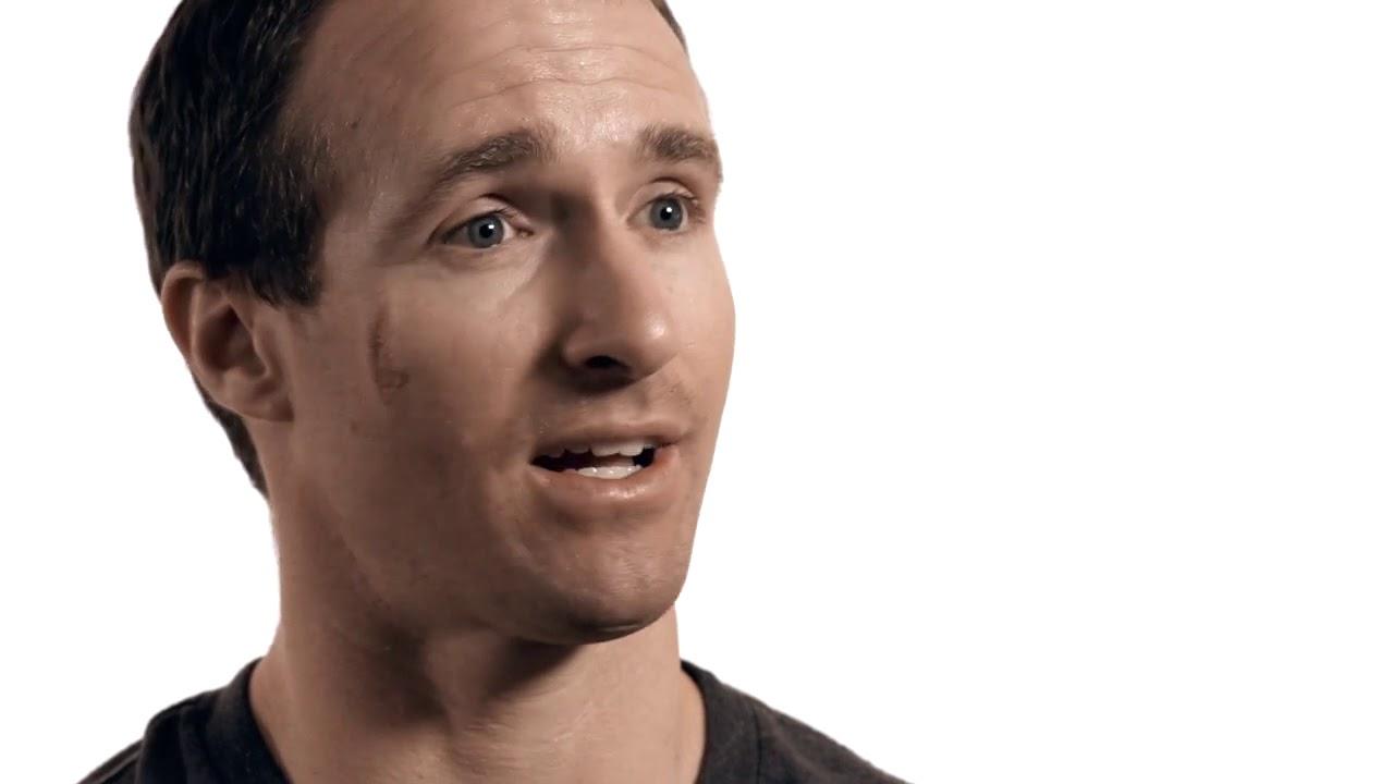 Saints QB Drew Brees shares his testimony of when he made Jesus Christ his savior