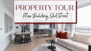 Property tour - 20th floor Luxury London flat overlooking Old Street