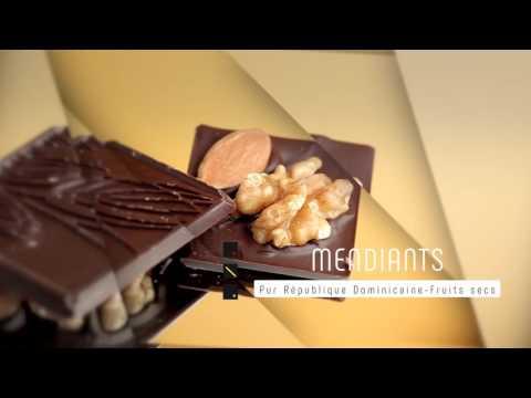 B Chocolat   MENDIANTS   Pur République Dominicaine   Fruits secs