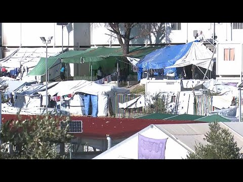 Conditions worsen in Greece's largest refugee camp