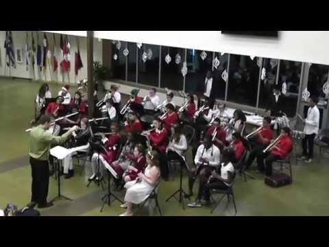 Carolina International School winter Band 2- 2014 Directed by Mr Jason Schultz