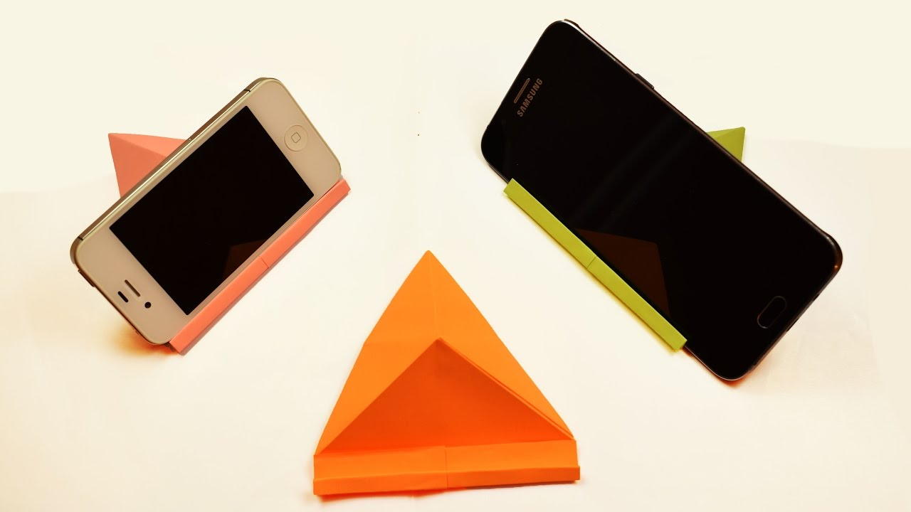 How To Make A Paper Standholder Youtube