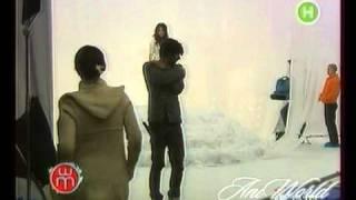 Ани Лорак на съемках клипа Для тебя