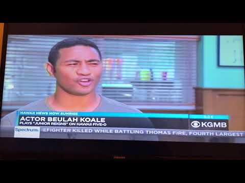 Hawaii Five-O story about new cast on HNN Sunrise