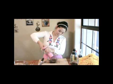 Stir Fry Recipe : Stir Fry Burdock Recipe (Healthy Recipes) : Korean Food : Asian at Home
