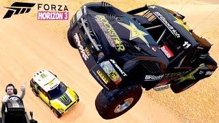 Крутые тачки из нового карпака Rockstar Energy #2 - Forza Horizon 3 на руле Fanatec CSL Elite Wheel