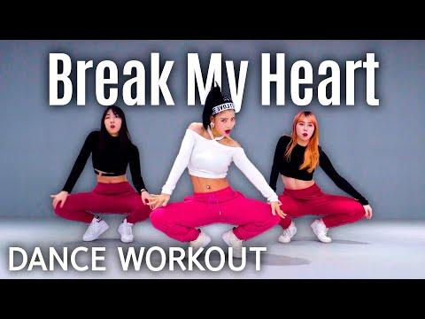 [Dance Workout] Dua Lipa – Break My Heart | MYLEE Cardio Dance Workout, Dance Fitness