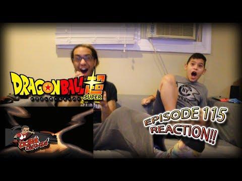 Dragon Ball Super Ep. 115 REACTION + Predictions!! |