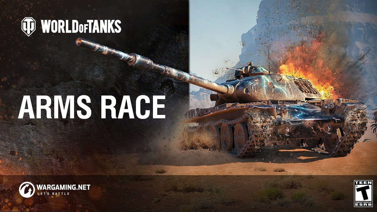 World of Tanks: Arms Race on the Global Map - YouTube
