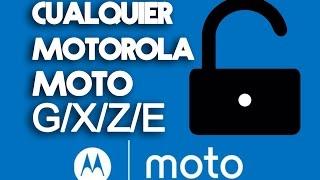 (Fácil) Como desbloquear bootloader de cualquier Motorola Moto (G,E,X,Z) En 2 clicks!  - Tecno Pixel