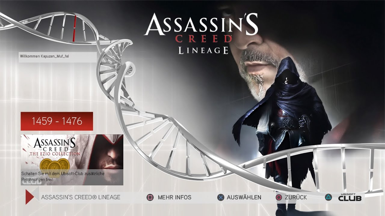 Assassin S Creed Lineage Bonus Kurzfilm Youtube