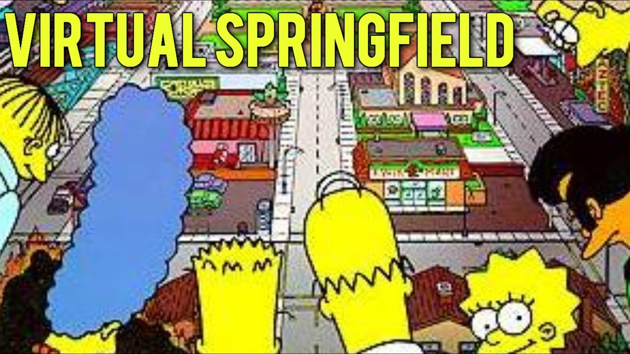 The simpsons virtual springfield game download