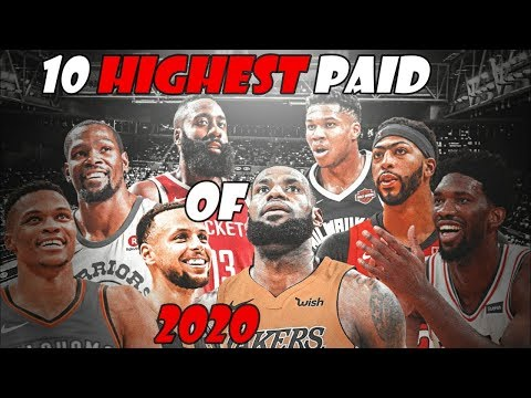 Top 10 Paid NBA Players Of 2020