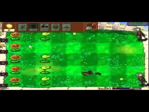 Plants vs zombies (Trồng cây bắn zombie) - Cấp độ 1-6 (Game Việt Hóa)