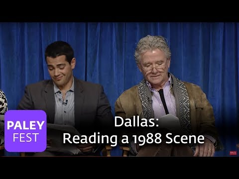 Dallas - Patrick Duffy and Jesse Metcalfe Read a Scene from a 1988 Episode