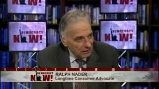 American Fascism: Ralph Nader Decries How Big Business Has Taken Control of the U.S. Government 1/2