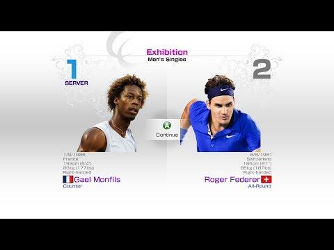 virtua-tennis-4-sega-gael-monfils-vs-roger-federer-rafael-nadal-roger-federer-andy-murray