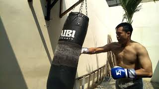 Daily relax boxing warm up