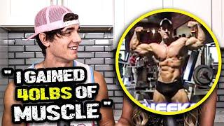 يدعي Bryce Hall أنه اكتسب 40 رطلاً من العضلات في SARM - ما يشبه 40 رطلاً في الواقع