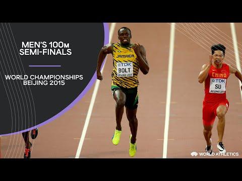 Men's 100m Semi-Finals