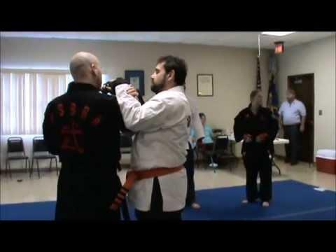 Tim Walk teaches joint lock seminar Collinsville Illinois