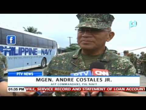 7th Marine Battalion, ginawaran ng isang Hero's Welcome sa Cavite