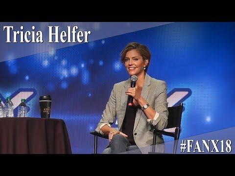 Tricia Helfer  Full PanelQ&A  X 2018