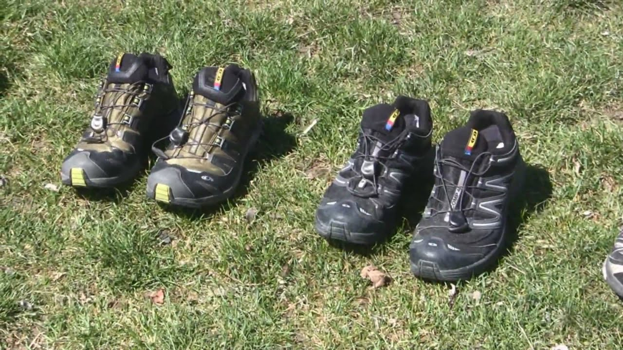 Different Kinds of Hiking Shoes