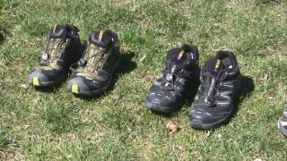 Different Types of Hiking Shoes