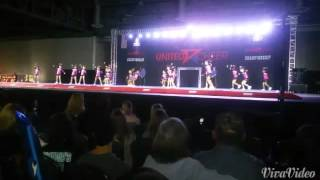 Stuntastic cheer Glitz won 1st place