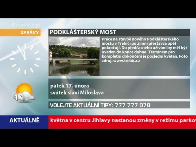 i-Vysočina.cz - vysílání informačního televizního kanálu Vysočiny