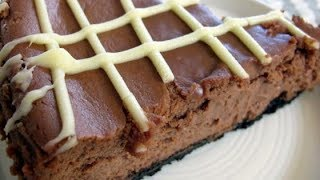 Chocolate Flavored Liqueur Chocolate Cheesecake | EASY TO LEARN | QUICK RECIPES