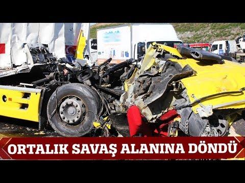 Kuzey Marmara Otoyolu'nda Ortalık Savaş Alanına Döndü
