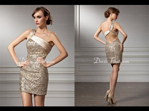 9d3813b689d Top 100 Gold cocktail dresses