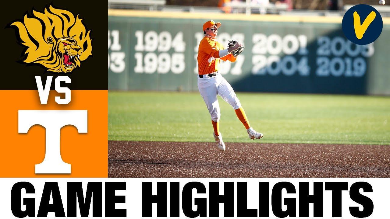 Arkansas-Pine Bluff vs #18 Tennessee Highlights | 2.23.2020 | 2021 College Baseball Highlights