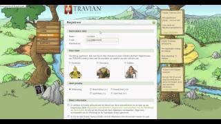 How to register on Travian