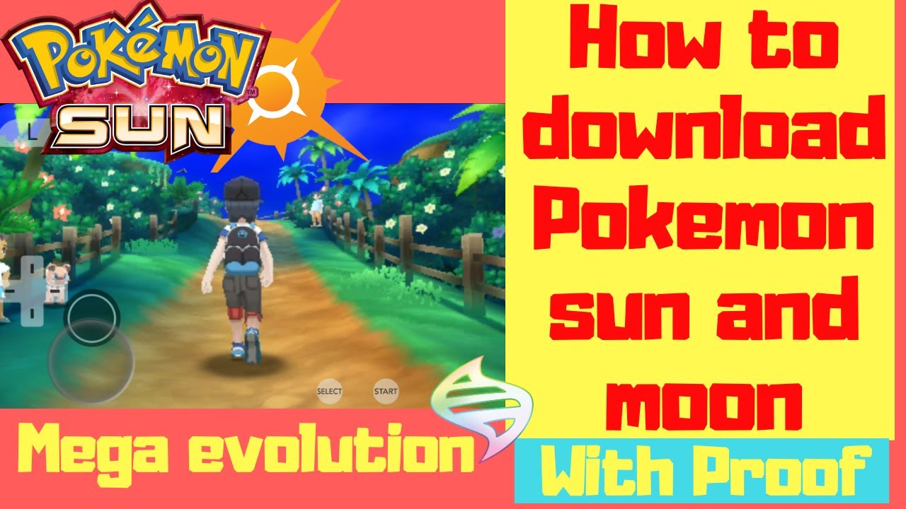 How To Download Pokemon Sun And Moon With Proof How To Download Pokemon Sun On Android Youtube