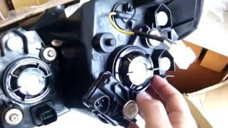 Фара на geely MK 017001106(Как выглядит фара на Джили МК. Какие лампочки используются. Фара с корректором. Где купить Страница товара..., 2015-10-01T12:16:26.000Z)