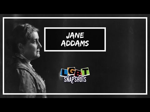 LGBT Snapshots: Jane Addams