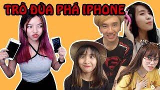 Nhúng Iphone Của Người Khác Vào Nước Và Cái Kết || TROLL BY TROLL