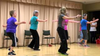 Zumba Gold at the Senior Center in Concord, California