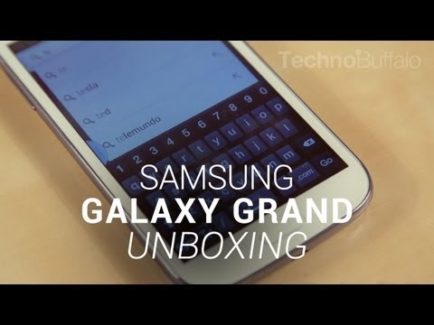 Samsung Galaxy Grand Unboxing