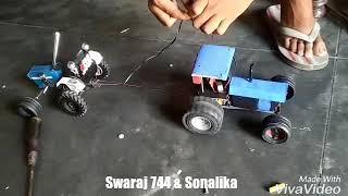 Mini model tractor tochan by 744 breakan fail group