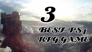 3 best PS4 RPG Game