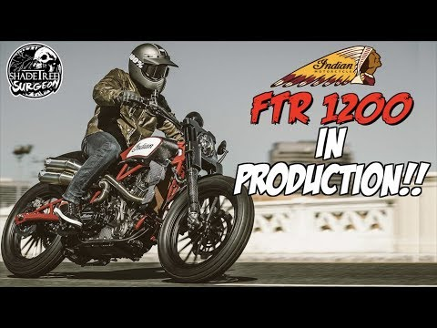This motorcycle could change America  Indian FTR1200