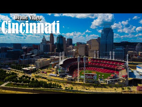 Welcome To Downtown Cincinnati! (Drone Footage)