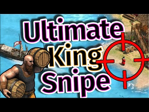 The Ultimate King Snipe AoE2 Game!