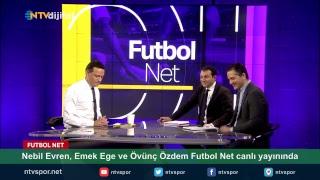Nebil Evren, Emek Ege ve Övünç Özdem Futbol Net canlı yayınında