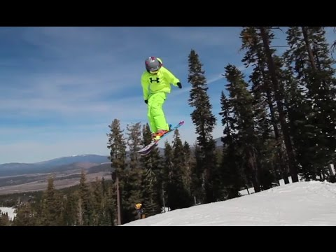 Cool Video Little Ski Kids Do Huge Jumps And Tricks In
